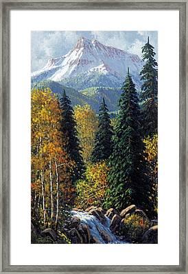 Colorado Framed Print by Randy Follis