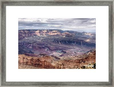 Colorado River At Grand Canyon Framed Print