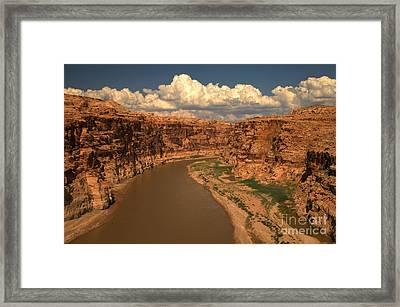 Colorado River Canyon Framed Print