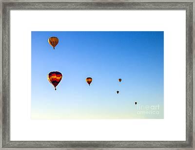 Colorado River Croosing Flight Framed Print by Robert Bales