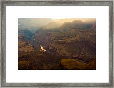 Colorado River Grand Canyon Framed Print