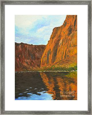 Colorado River Framed Print by Kate Sumners