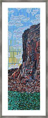 Colorado River Framed Print by Micah Mullen