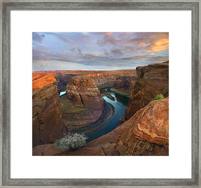 Colorado River Framed Print by Tim Fitzharris