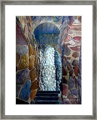 Colorado Rock Castle  Framed Print