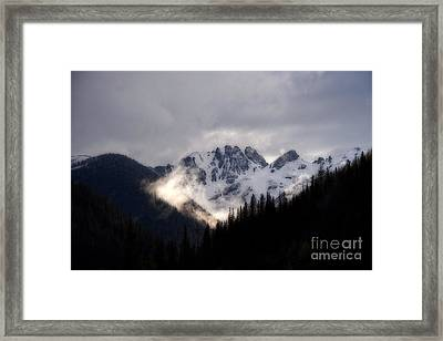 Colorado Rocky Mountains From Highway 550 Framed Print