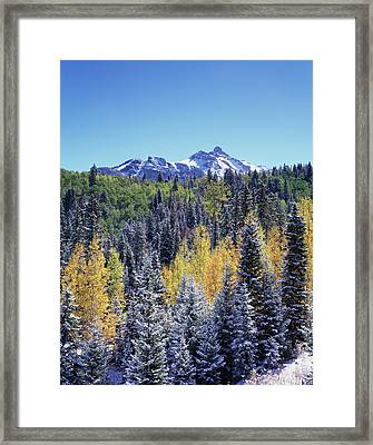 Colorado, San Juan Mountains, First Framed Print by Christopher Talbot Frank