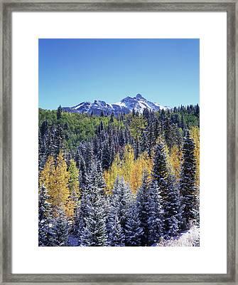 Colorado, San Juan Mountains, First Framed Print