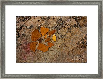 Colorado Sandstone Framed Print