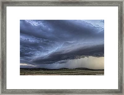 Colorado Shelf Cloud Framed Print