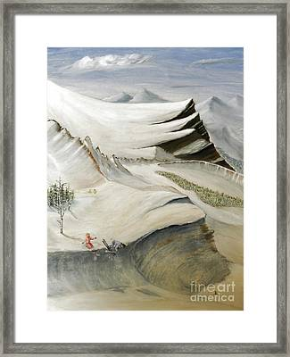 Colorado Skiing Framed Print by Stephen Schaps