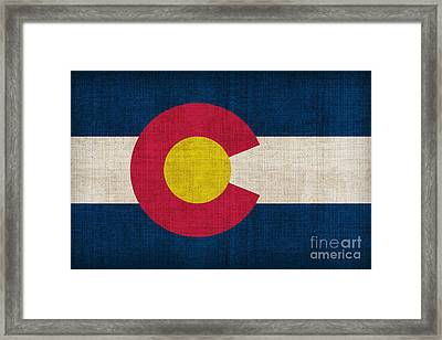 Colorado State Flag Framed Print