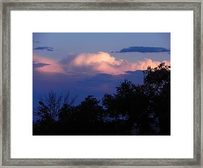 Colorado Storm Clouds Framed Print