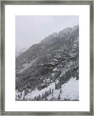 Framed Print featuring the photograph Colorado Storm by Kristine Bogdanovich