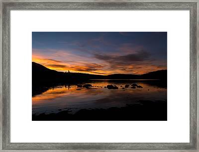 Colorado Summer Sunset Framed Print