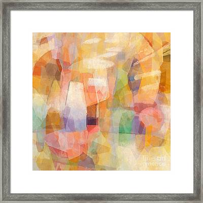 Colorbreak Framed Print