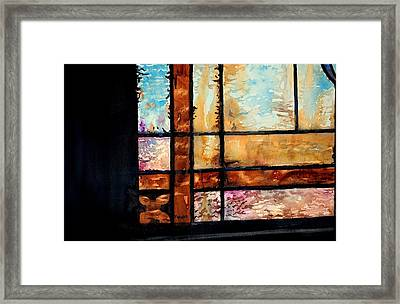 Colored Impressions Framed Print by Spencer Meagher