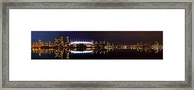 Colored Night Framed Print