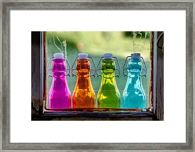 Colored Past Framed Print by Teri Virbickis