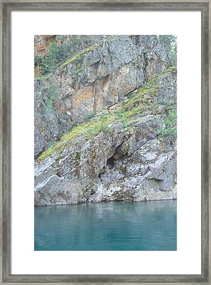 Colored Rocks Framed Print by Susan Woodward