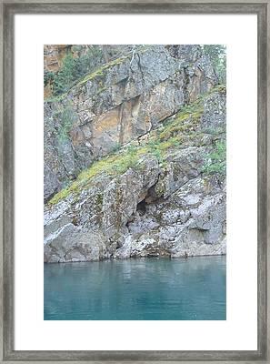 Colored Rocks Framed Print