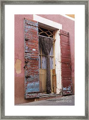 Colored Textures Framed Print by Bob Phillips