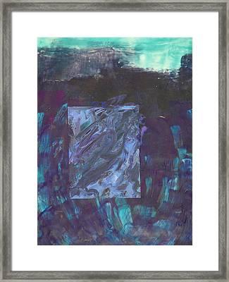 Colorfield Framed Print by Valerie Lynch