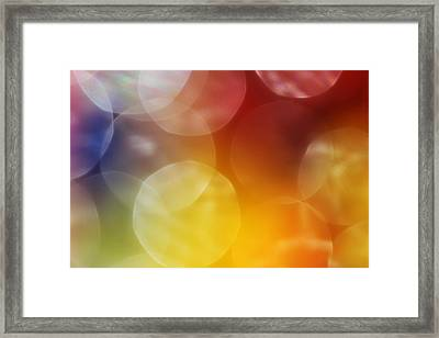 Colorful Abstract 7 Framed Print by Mary Bedy