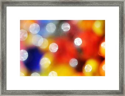 Colorful Abstract 8 Framed Print by Mary Bedy
