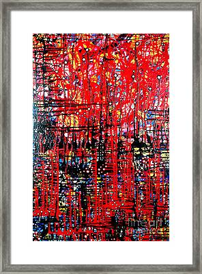 Colorful Abstract Artwork Framed Print