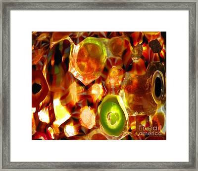 Colorful Abstract Framed Print
