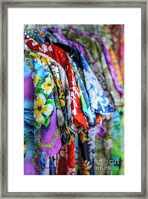 Colorful Aloha Framed Print