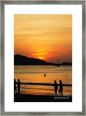 Colorful Ambiance Framed Print