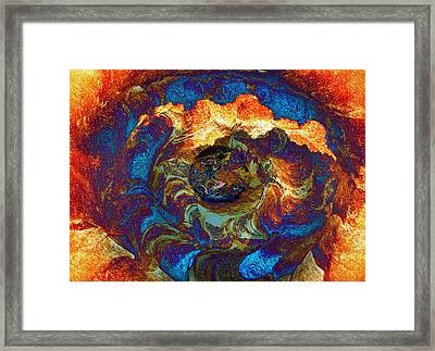Degrees Of Color Framed Print by Kellice Swaggerty