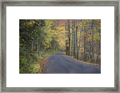 Framed Print featuring the photograph Colorful Backroads by Robert Camp