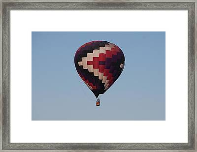 Colorful Balloon  Framed Print by Miguelito B
