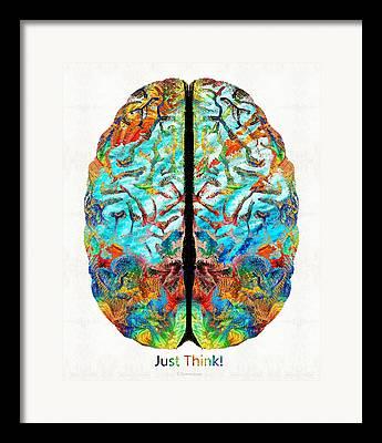 Intelligence Paintings Framed Prints