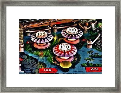 Colorful Bumpers Framed Print