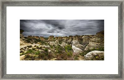 Colorful Canyons Framed Print
