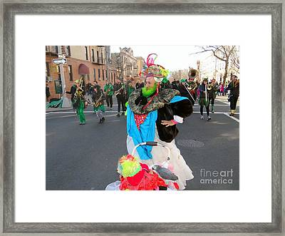 Colorful Character Framed Print by Ed Weidman