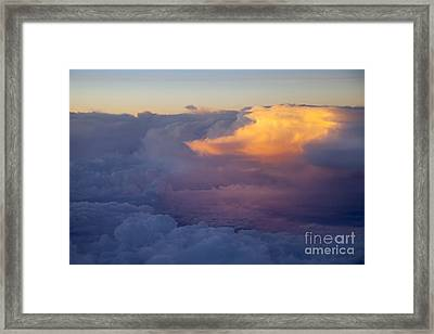Colorful Cloud Framed Print by Brian Jannsen