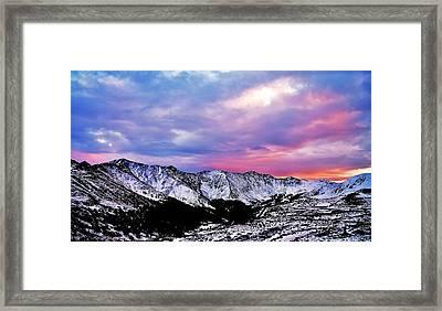Colorful Colorado Framed Print
