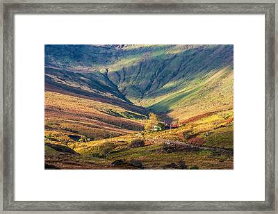 Colorful Connemara Landscape In Ireland Framed Print by Pierre Leclerc Photography