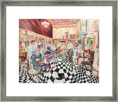 Colorful Cuts And Trims Framed Print