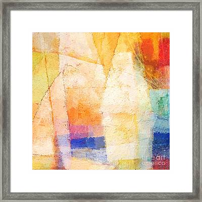 Colorful Day Framed Print by Lutz Baar