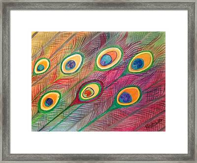 Colorful Delusions Framed Print