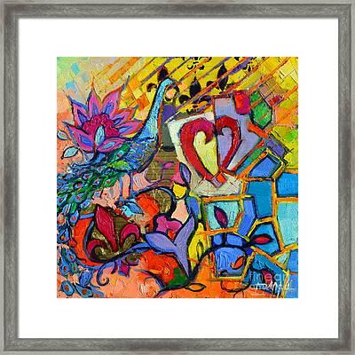 Colorful Dream Framed Print