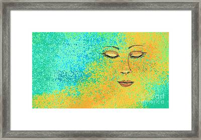 Colorful Dreams Framed Print by Hilda Lechuga