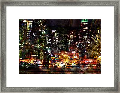 Colorful Evening Framed Print