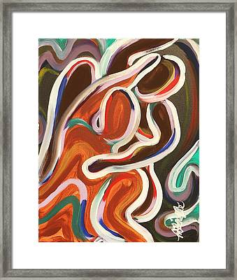 Colorful Evenings Framed Print